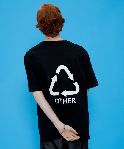OTHER-Logo T-shirt [Black]