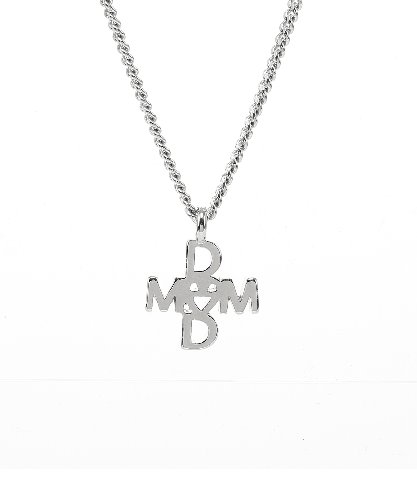 Mom&Dad Cross Necklace [Boy]